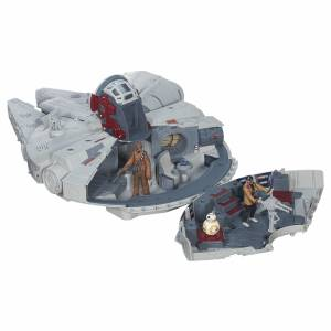 STAR WARS TFA BATTLE ACTION MILLENNIUM FALCON 2