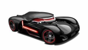Hot Wheels Star Wars Kylo RenTM Character Car