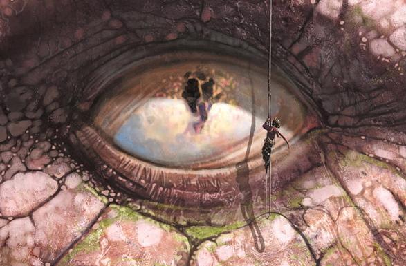 Le dragon Griaule, de Lucius Shepard (Editions Le Bélial')