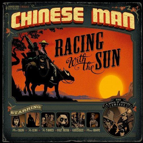 Chinese Auto Racing on Chinese Man Racing With The Sun