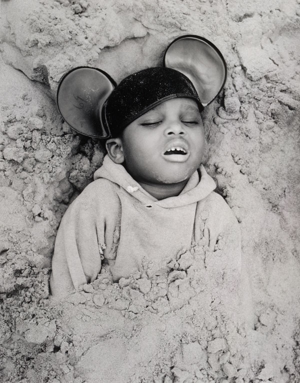 Arthur Tress, Boy in Mickey Mouse Hat (1968)