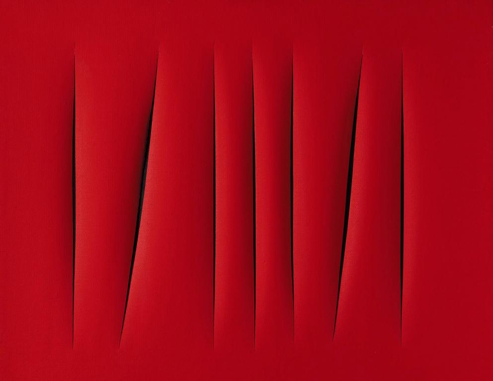 Rétrospective Lucio Fontana au musée d'art Moderne de Paris