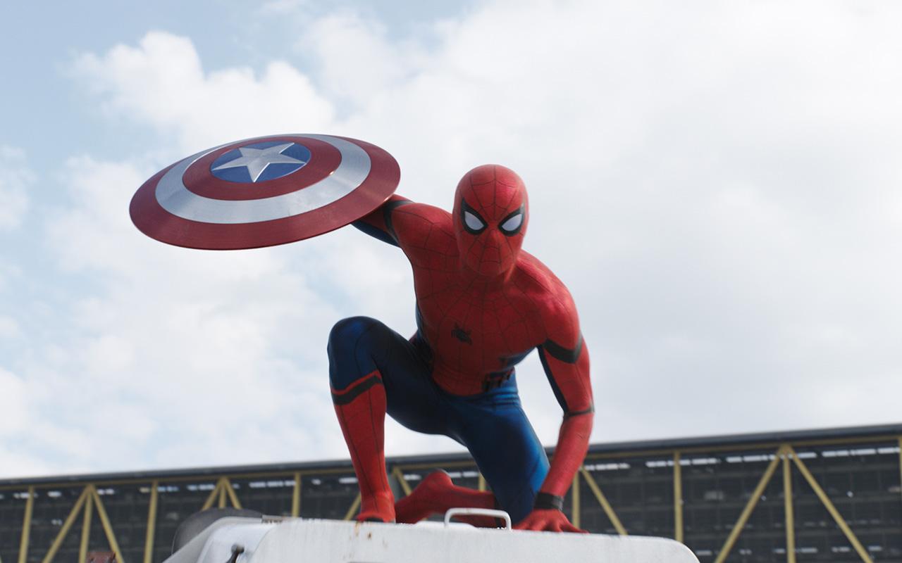 Spider-Man dans le nouveau trailer de «Captain America – Civil War»