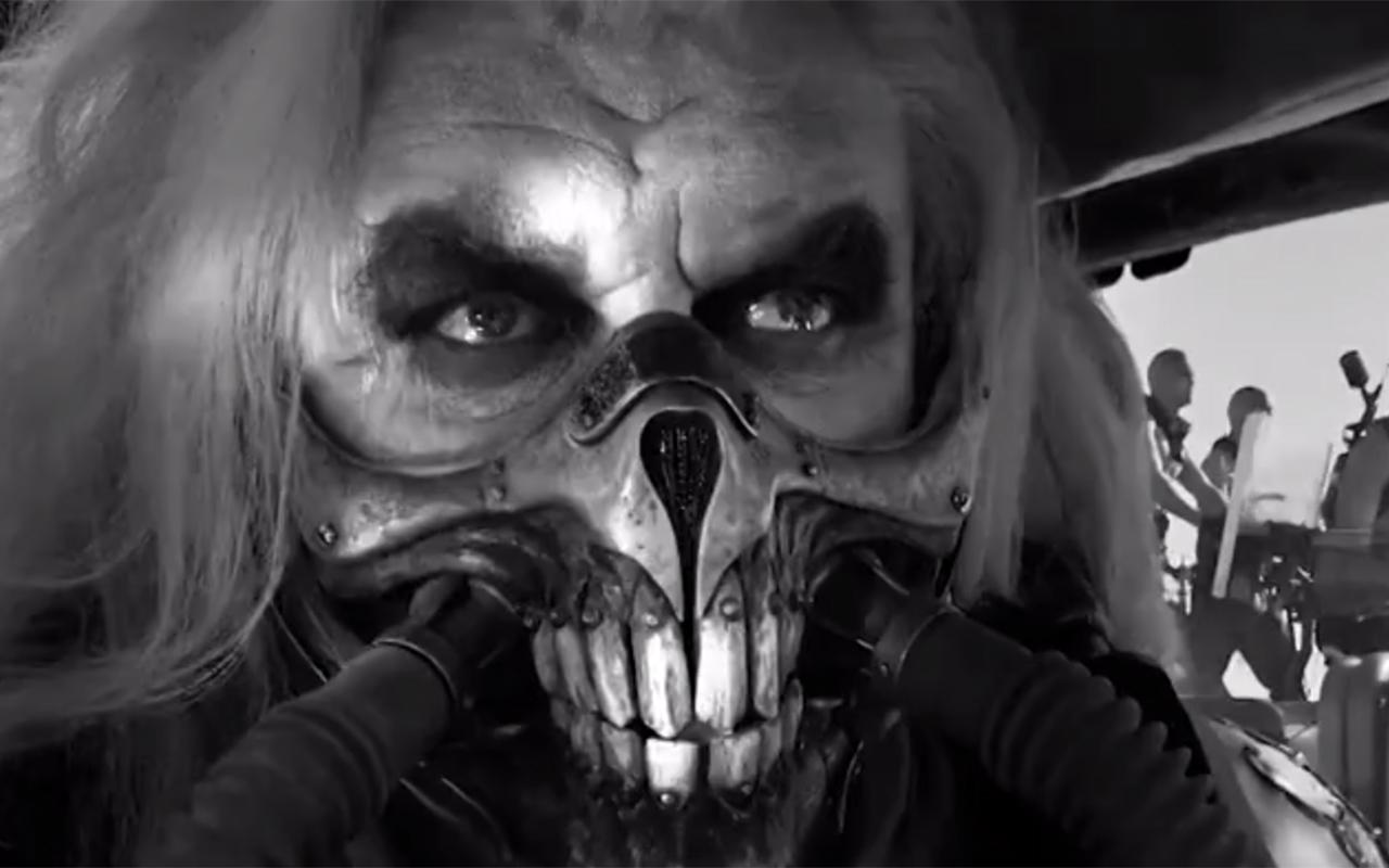Mad Max Fury Road Black & Chrome : premier aperçu en vidéo