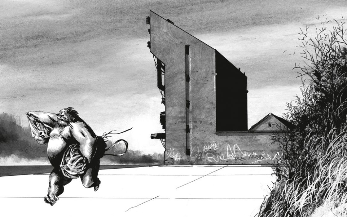 Blast, Tome 3 : «La tête la première», de Manu Larcenet (Dargaud)